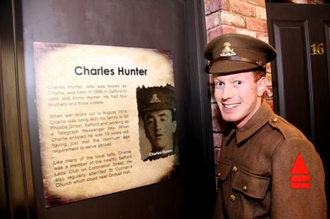 Meet and sketch Charlie Hunter at The Fusilier Museum
