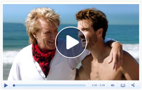 Rod Stewart i Star Tours nye reklamefilm
