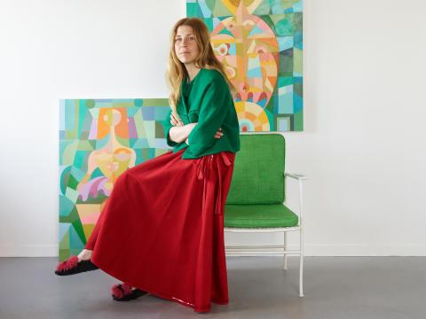 Portrait picture Liselotte Watkins