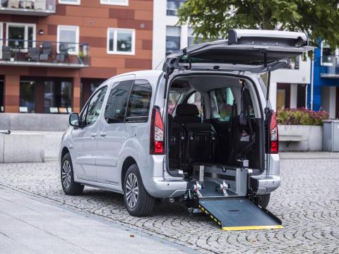 Peugeot Partner Tepee Flexiramp - enkelt och tryggt