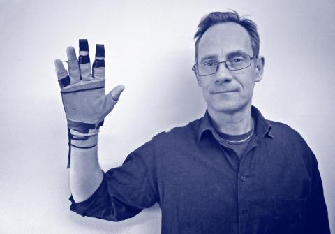 Carl  Unander-Scharin, forskare och doktorand på KTH och gästprofessor vid Operahögskolan.