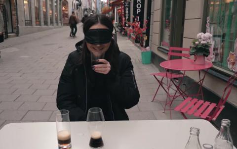 Blindtest av Riedels Coca-colaglas