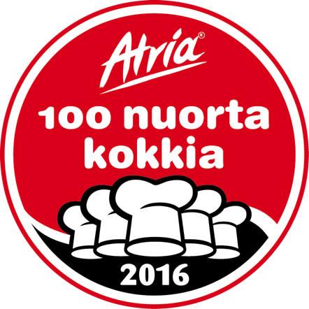 Atria 100 Nuorta Kokkia -koulutusohjelman haku on nyt käynnissä!