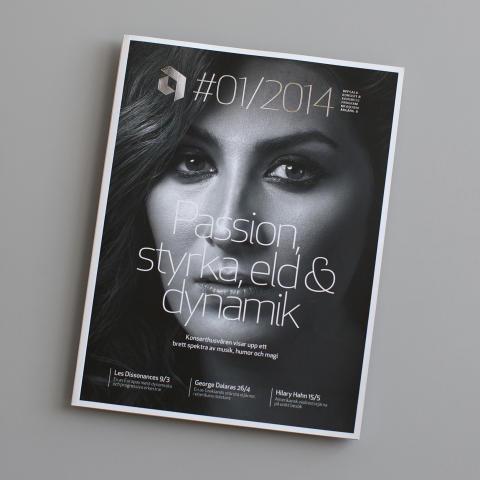 Uppsala Konsert & Kongress säsongsprogram nominerat till Svenska Designpriset