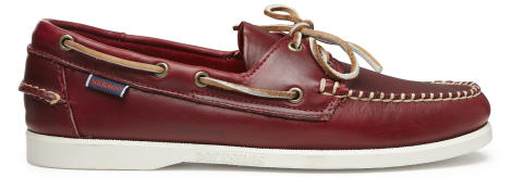Sebago Horween Red