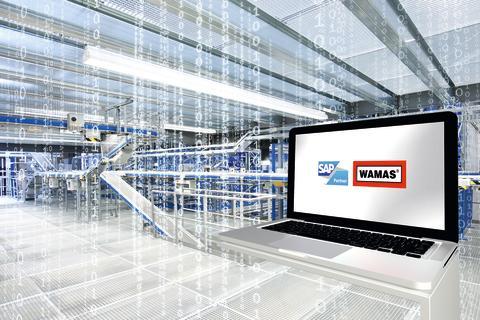 """På """"World of IT""""-udstillingen markerer SSI Schäfer sin dominans inden for software og præsenterer SAP og WAMAS løsninger."""