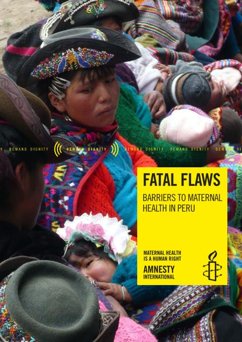 Fatal Flaws: Barriers to Maternal Health in Peru