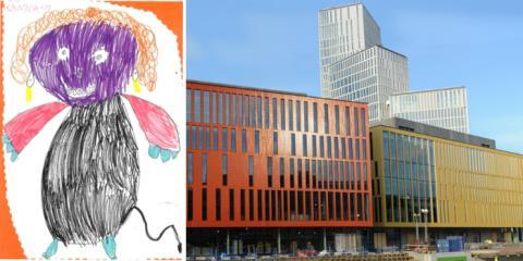 250 barns teckningar har blivit konsert på Malmö Live