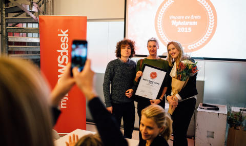 Har du Sveriges bästa nyhetsrum 2016?