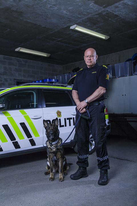 Hundepatruljen Oslo - Kai og Trixxie
