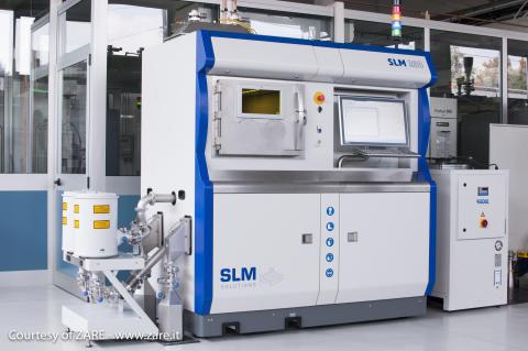 Zare setzt auf die SLM 280 2.0 für die Additive Fertigung in der Luft- und Raumfahrtindustrie