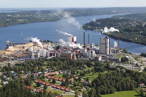 Östrands massafabrik använder SSG On site