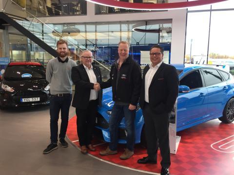 FordStore BilMånsson i fortsatt satsning på V8 Thunder Cars tillsammans med Bryntesson Motorsport