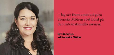 Sylvia Nylin tar plats i IACC:s styrelse