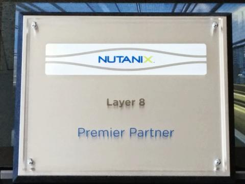 Layer 8 IT-Services - Nutanix första Premier Partner i Sverige sedan Juli 2012