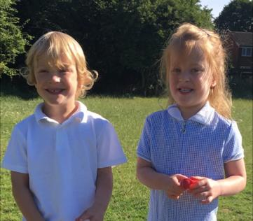 Miracle twins given just a 10% chance of survival start school for first time