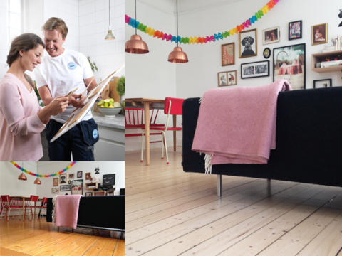 Wood floor makeover – den snabba vägen till en stor förändring