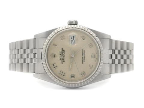 Klockor 3/8, Nr 101, ROLEX, Oyster Perpetual, Datejust, Chronometer