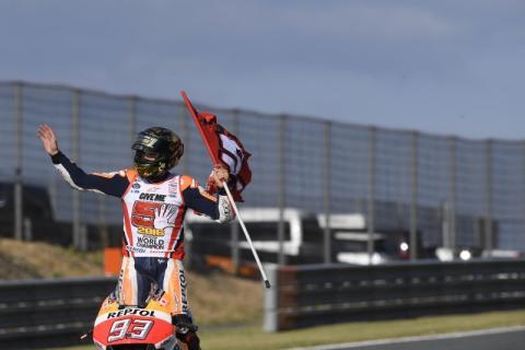 Marc Marquez vinnare av MotoGP VM i Japan 2016!