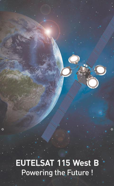 Axesat wybiera EUTELSAT 115 West B, satelitę nowej generacji, dla łączności w Ameryce Południowej