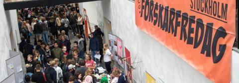 Anmäl intresse för ForskarFredag Stockholm 2019