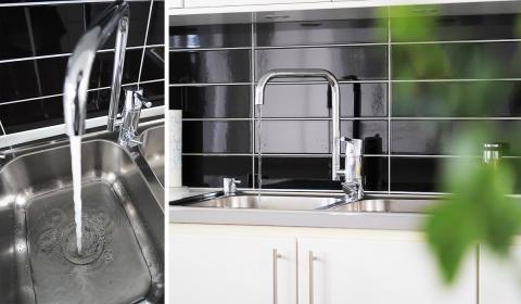 Stopp i vasken, diskhon eller handfatet