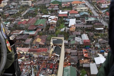 Fulla kostnaderna för tyfonen i Filippinerna fortfarande okänt