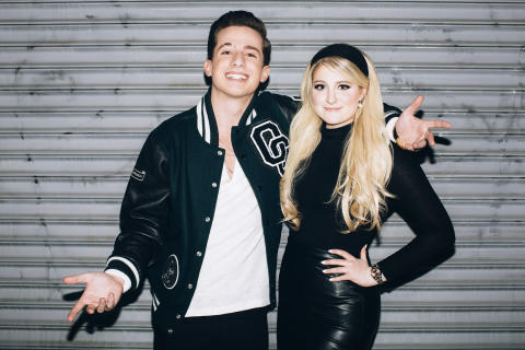 Charlie Puth and Meghan Trainor