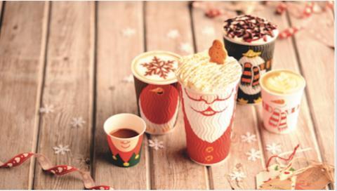 Costa Christmas 2016 cup range