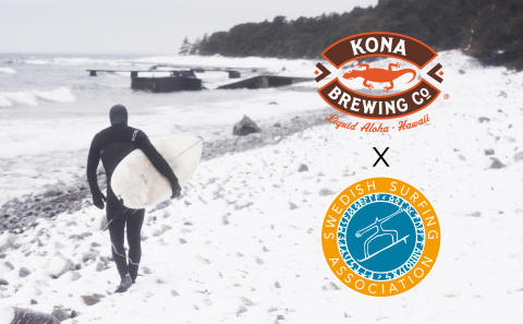 Kona Brewing ny huvudsponsor för Swedish Surfing Association