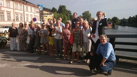 Estonian tourism and hospitality key stakeholders visited Haaga-Helia and EBS campuses in Finland