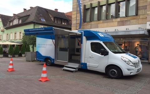 Beratungsmobil der Unabhängigen Patientenberatung kommt am 20. März nach Offenburg.