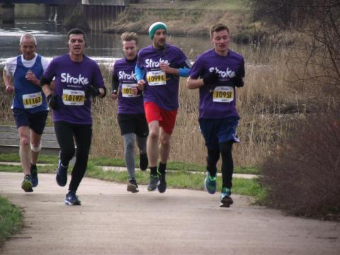 London runners raise nearly £50,000 for the Stroke Association