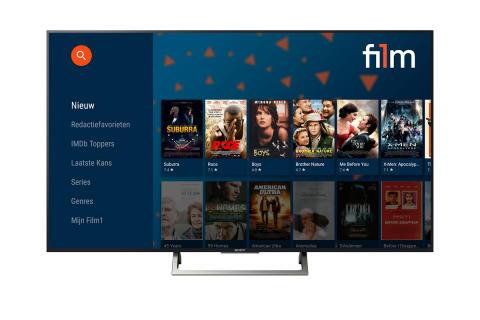 Film1 lanceert App voor Sony Android Tv's - Sony Nederland