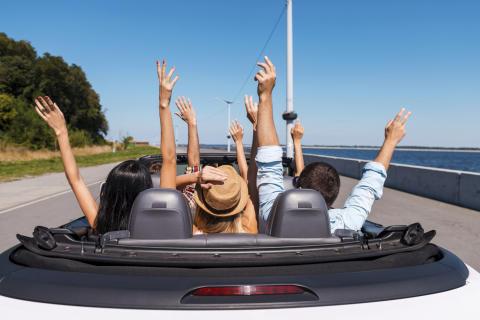 Flere leier luksusbiler i ferien