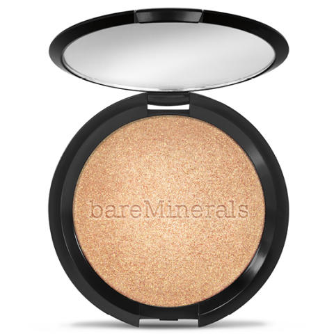 bareMinerals clean glow collection highlighter