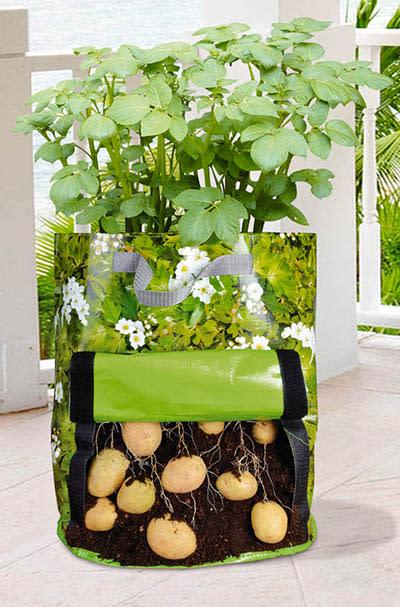 """Odla på balkongen -  Odlingspåse för potatis """"Urban Gardening"""""""