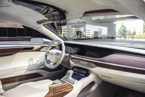 Hyundais konseptbil Vision G (interiør)