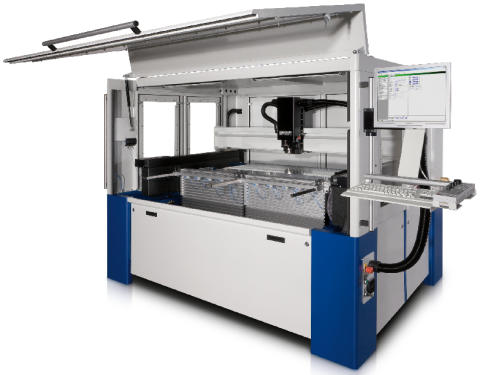 MV1500-1c ett mycket flexibelt bearbetningssystem för stora format