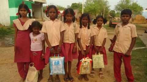 Village Uplift Programme Omipper Indien