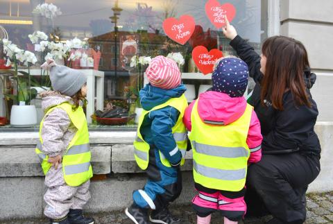 Förskolebarn initierar projekt för att lära sig naturkunskap