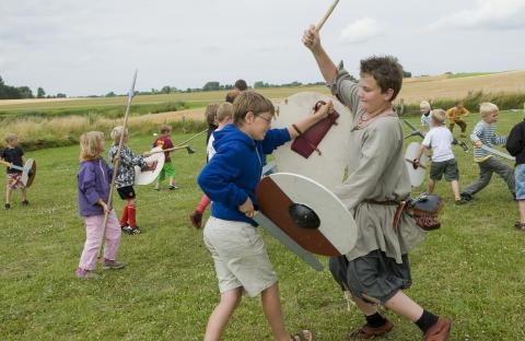 Vikinger åbner Trelleborg