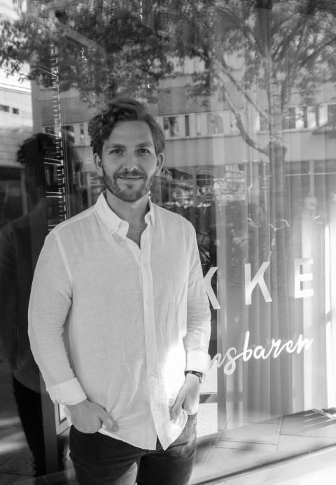 Robert Hallgren ny kökschef på LYKKE