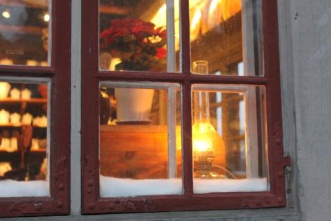 Krukmakaren i juletid. Foto Maria Johansson.