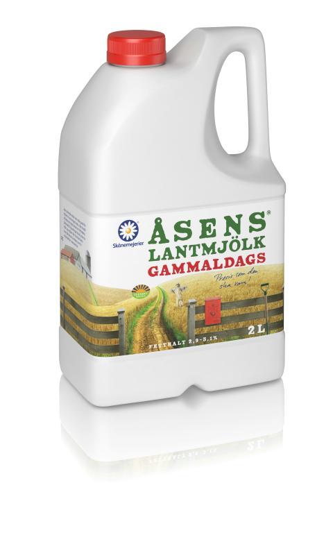 Åsens Lantmjölk 2l