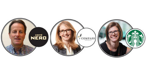 Starbucks, Compass & Caffè Nero to speak at lunch! 2017