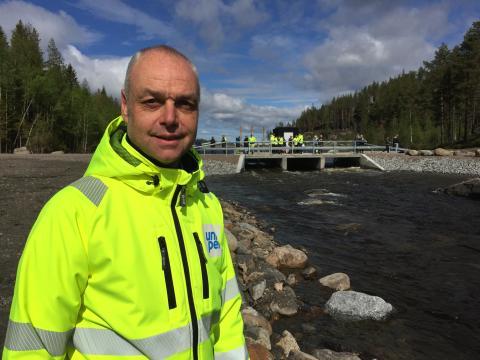 Uniper inviger nybyggd fiskväg – snart 15 mil fria vandringsvägar i Faxälven