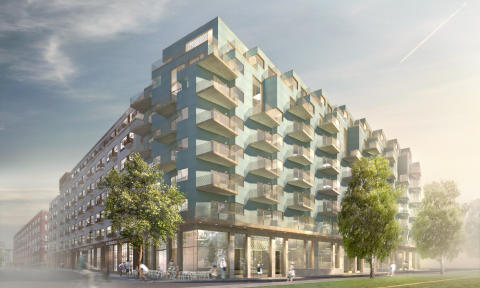 FOJAB huvudarkitekt för nytt bostadskvarter på Kungsholmen