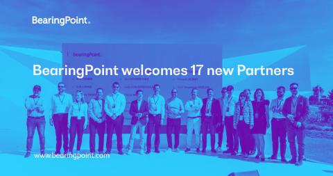 BearingPoint welcomes 17 new Partners