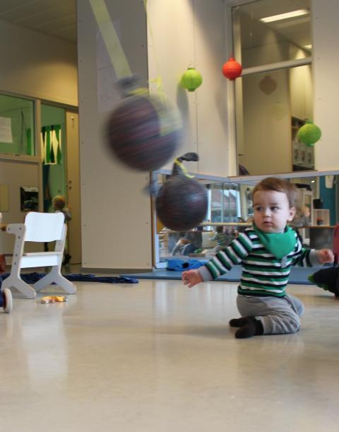 Pendler i bevegelser - baller